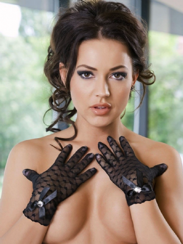 Miriam Sheer Lace Short Gloves